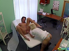 Penelope in Doctor and nurse enjoy patients wet pussy - FakeHospital