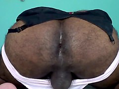 AMAZING-CUM USING TEEN MEENUS SOILED PANTIES N BRA