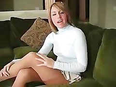 Bella Cole masturbation instructions pantyhose fetish