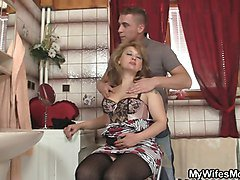 He cheats with hot stepmother-in-law