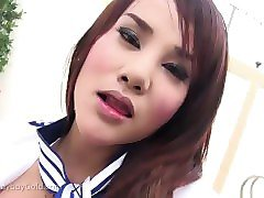sexy ladyboy in unifirm