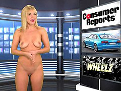 naked babes are kinky tv presenters