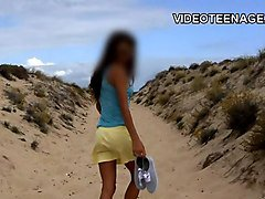 teen nudist at beach