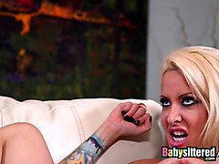 babysittered - threesome with the naughty babysitter