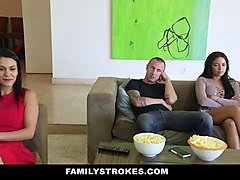 familystrokes  fucked my bro on movie night
