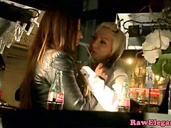Glamcore lesbians lick clit and analplay