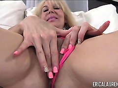 erica lauren pink panties and toy