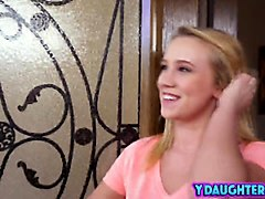 Blonde Step Daughter Bailey Brooks Ride