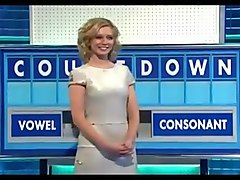 Rachel Riley - Sexy Figure - Super Short Silver Dress