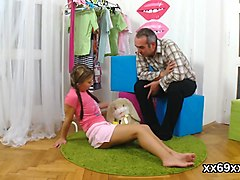 Stud as###ts with hymen examination and screwing of virgin girl