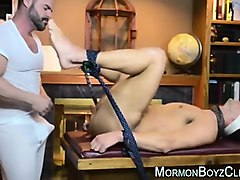 older gay man assfucks young straight in bondage