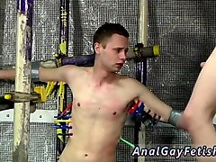 broke boys bondage gay feeding aiden a 9 inch cock