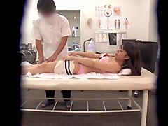 adorable asian cutie gets massaged and fingered by a super horny man