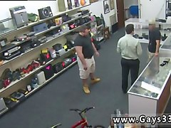 adorable gay hunk gets his ass nailed in the pawn shop