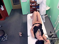Doctor cummed in matures mouth